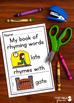 Rhyming Activities: Flip Books to Teach Words that Rhyme