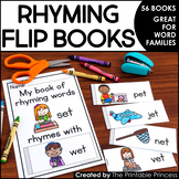 Rhyming Activities: Flip Books to Teach Words that Rhyme