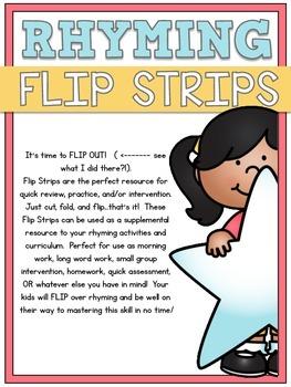 Rhyming Flip Strips
