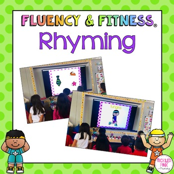 Rhyming Fluency & Fitness Brain Breaks Bundle
