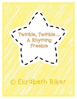 Rhyming Freebie - Twinkle Twinkle