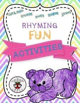 Rhyming Activities Printables ELA