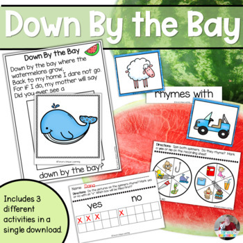 Rhyming Fun- Down By the Bay Interactive Chart