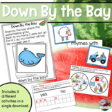 Down By the Bay Pocket Chart- Rhyming Fun