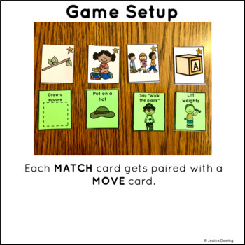Rhyming Game- See, Match, Move