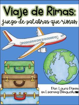 Rhyming Game in Spanish- Travel Theme