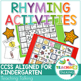 #spedtreats3 Rhyming Worksheets and Activities