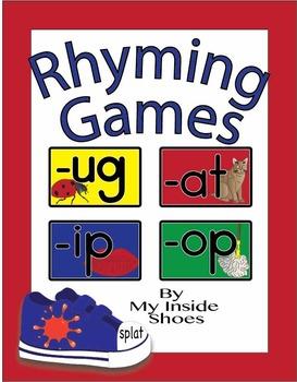 Rhyming Games (-at, -ip, -ug or -op)