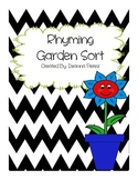 Rhyming Garden Sort