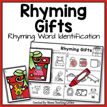 Rhyming Gifts - Rhyming Word Identification