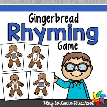 Rhyming Gingerbread Game