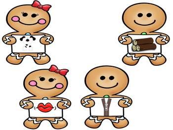 Rhyming Gingerbread Men