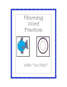 Rhyming Go Fish Game