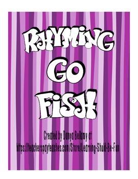 Rhyming Go Fish or Memory Game