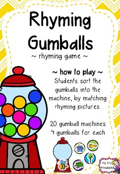 Rhyming Gumballs