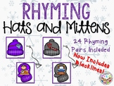 Rhyming Hats and Mittens-NOW with Blacklines!