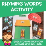 Rhyming Word Families Activity