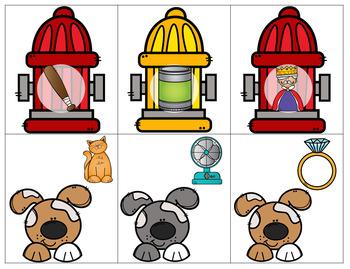 Rhyming Hydrants: Rhyme Match Up