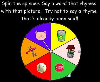 Rhyming Fun for the SMART Board