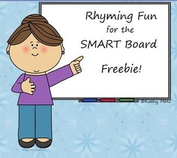 Rhyming Instruction for the SMART Board Freebie
