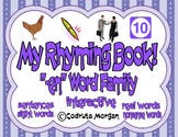 "Rhyming Interactive Book - ""-en"" Word Family. CCS Aligned"