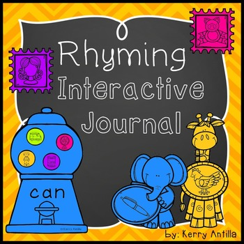 Rhyming Interactive Journal