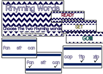 Rhyming Interactive PowerPoint