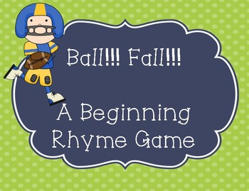 Rhyming Intervention Game