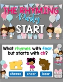 Rhyming Jeopardy Style Game