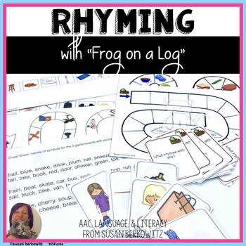 Frog on a Log Rhyming Language Fun