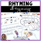 Frog on a Log Rhyming Language Fun