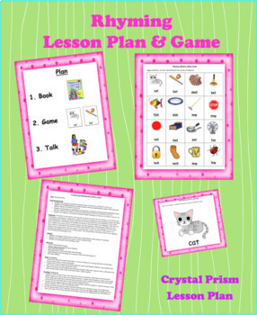Rhyming Lesson Plan