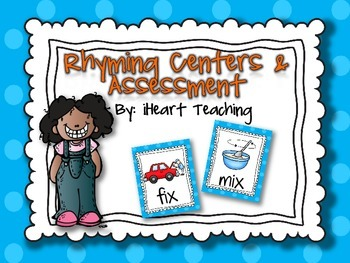 Rhyming Literacy Centers and Assessment