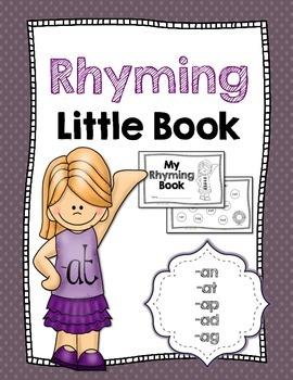 Rhyming Little Book {-an, -at, -ap, -ad, -ag}