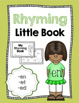 Rhyming Little Book {-en, -et, -ed}