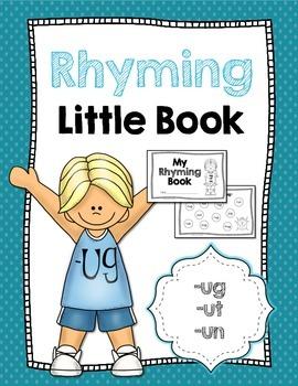 Rhyming Little Book {-ug, -ut, -un}