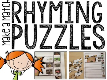 Rhyming: Make-A-Match Puzzles