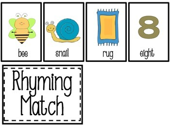 Rhyming Match