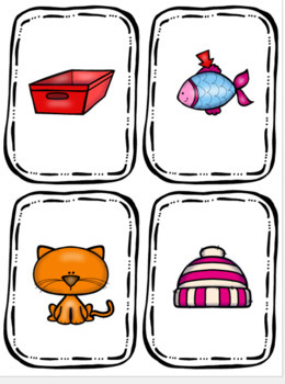 Rhyming Match Cards (Center Activity)