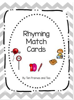 Rhyming Match Cards (Center Activity)
