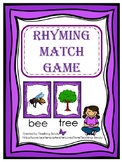 FREE Rhyming Match Game
