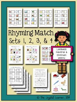 Rhyming Match, Sets 1-4