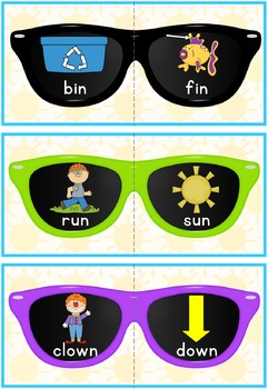 Rhyming Match Sunglasses