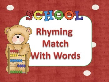 Rhyming Match with Words