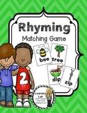 Rhyming Matching Game