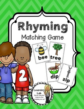 Rhyming Matching Game