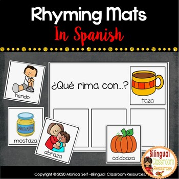 Rhyming Mats In Spanish