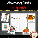 Rhyming Mats In Spanish