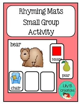 Rhyming Mats - Small Group Activity