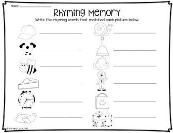 Rhyming Memory